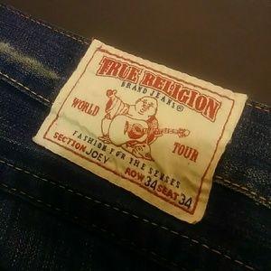 Rare & Unique Limited Edition True Religion jeans